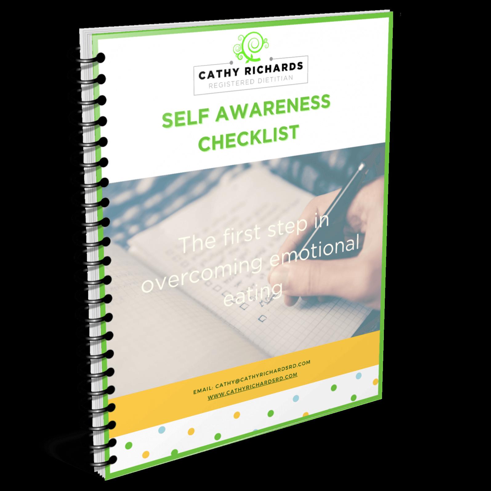 Self Awareness Check List Cathy Richards RD