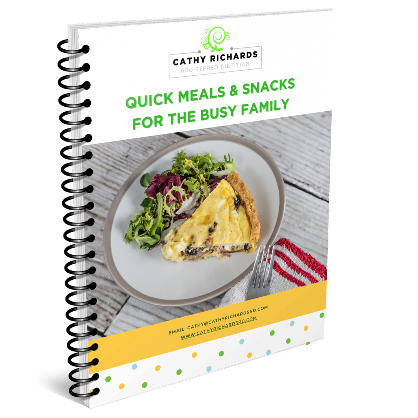 Quick & Easy Meals for the Busy Family Cathyrichardsrd.com