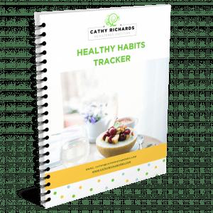 Healthy Habits Tracker Check List Cathyrichardsrd.com