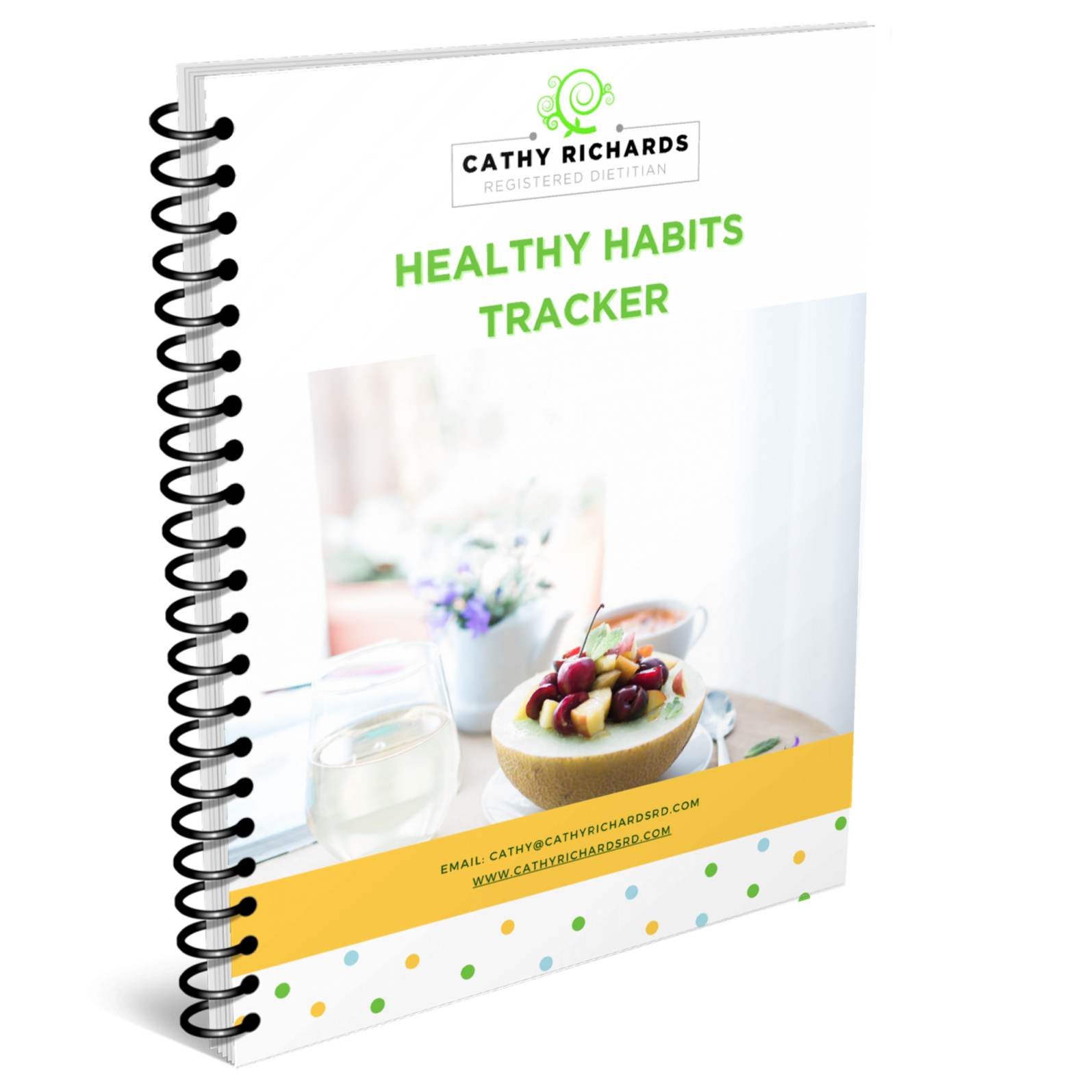 Healthy Habits Tracker Check List Cathyrichardsrd.com
