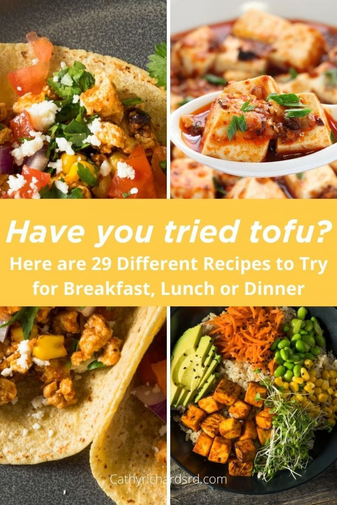 29 tofu recipes for every meal