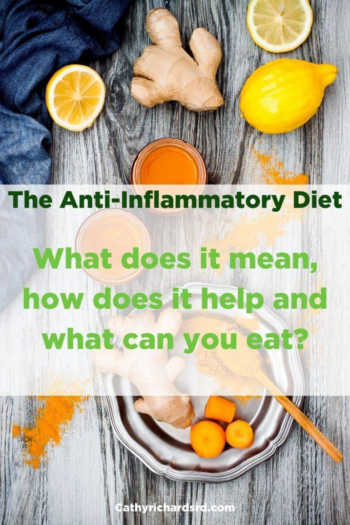 Anti-Inflammatory Diet How to reduce long term chronic illnesses