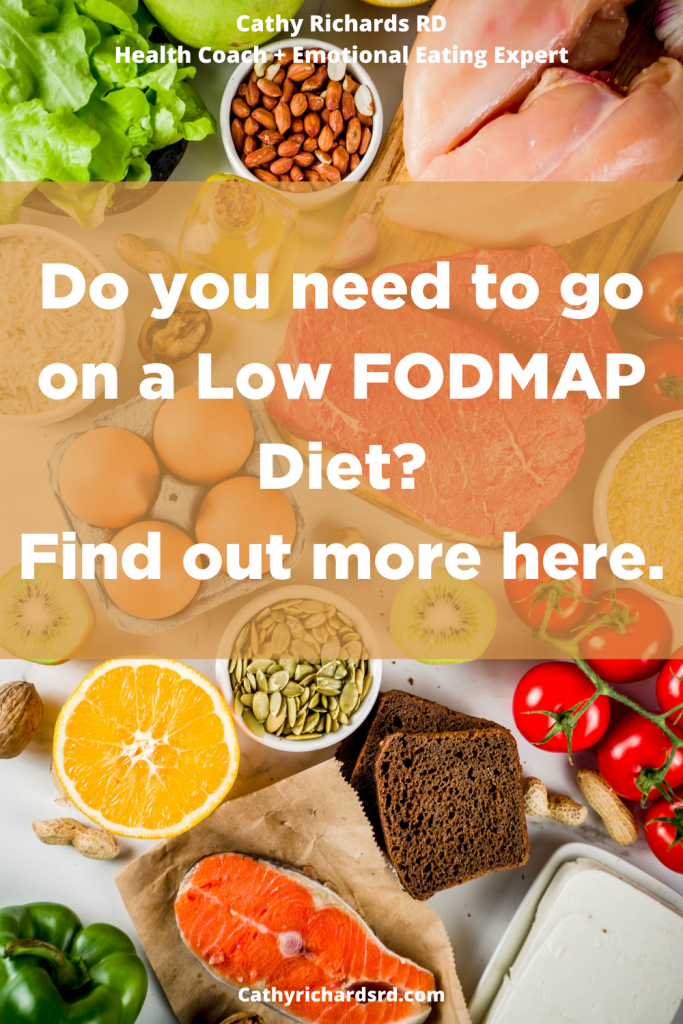 THE FODMAP DIET TO EASILY MANAGE IRRITABLE BOWEL SYNDROME Pin